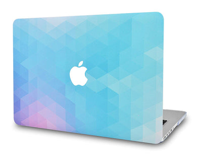 Macbook Case - Color Collection - Purple Blue Ombre