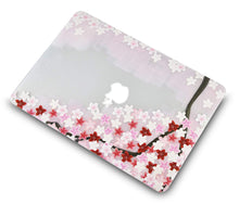 Load image into Gallery viewer, Macbook Case Bundle - Flower Collection -  Sakura with Keyboard Cover