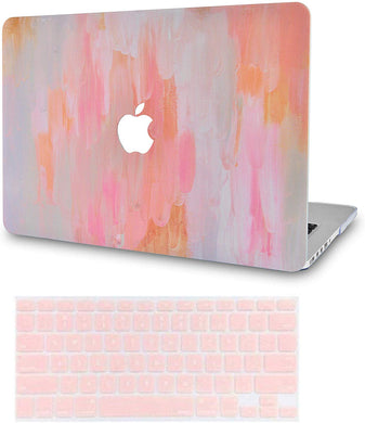 Macbook Case Bundle - Paint Collection - Mist 13 with Keyboard Cover