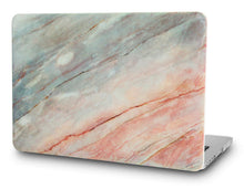 Load image into Gallery viewer, Macbook Case - Marble Collection - Granite