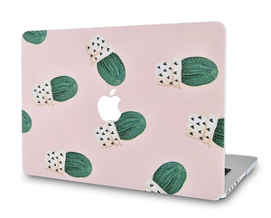 Macbook Case - Paint Collection - Cactus 1