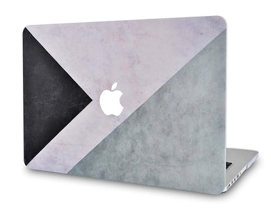 Macbook Case - Color Collection - Black White Grey