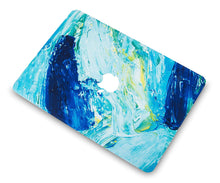 Load image into Gallery viewer, Macbook Case Bundle - Paint Collection - Ocean with Keyboard Cover