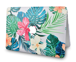 Macbook Case - Flower Collection - Tropical Flowers