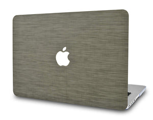 Macbook Case - Leather Collection - Dark Green Saffiano Leather