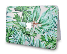 Load image into Gallery viewer, Macbook Case Bundle - Flower Collection - Rainforest with Keyboard Cover