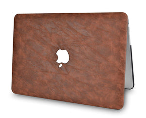 Macbook Case - Leather Collection - Light Brown Leather