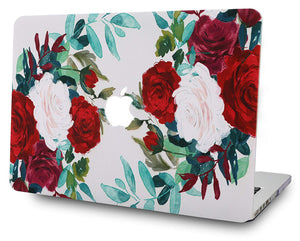 Macbook Case Bundle - Flower Collection - Flower 25 with Keyboard Cover