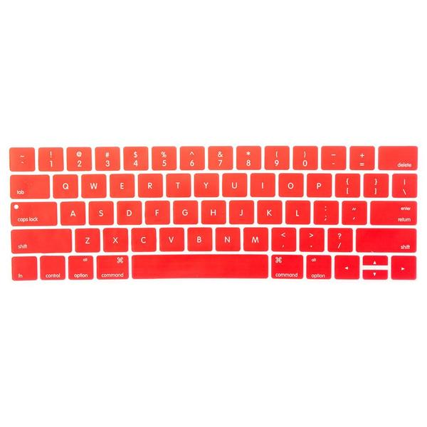 Macbook US/CA Keyboard Cover - Color Collection - Red