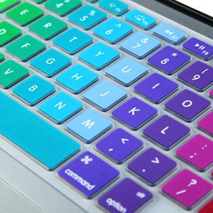 Macbook US/CA Keyboard Cover - Color Collection - Rainbow