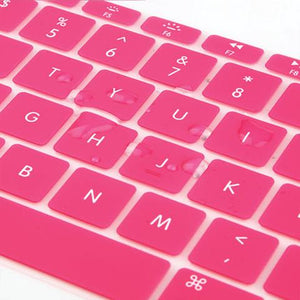 Macbook US/CA Keyboard Cover - Color Collection - Pink