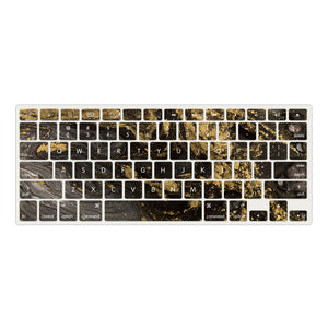 MacBook Case  - Marble Collection - Portoro Marble with Sleeve, Keyboard Cover, Screen Protector and USB Hub