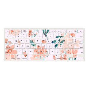 Macbook Case - Flower Collection - Little Flowers with  Keyboard Cover