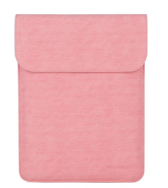 Laptop Sleeve - Leather Collection - 13 inch - Light Pink Vertical
