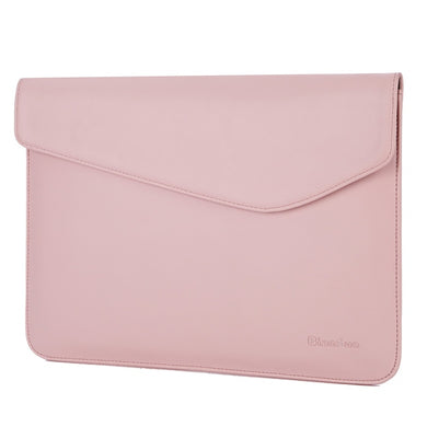 Laptop Sleeve - Leather Collection - 13 inch - Light Pink Envelope Horizontal