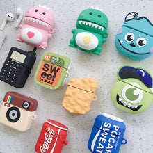 Load image into Gallery viewer, AirPod Case - Color Collection - Cartoon Pattern Animals