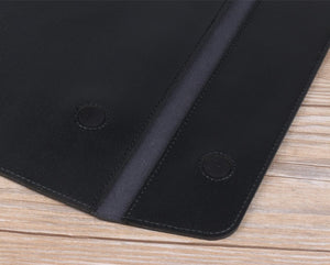 "Laptop PU Leather Envelope Sleeve Case For MacBook 13.3"",15.4"",11"" - Black"