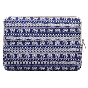 Macbook / iPad / Laptop Sleeve - Blue Elephant