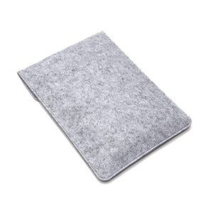 Laptop Woolfelt Cover Case 11 12 13 15 Inch - Grey