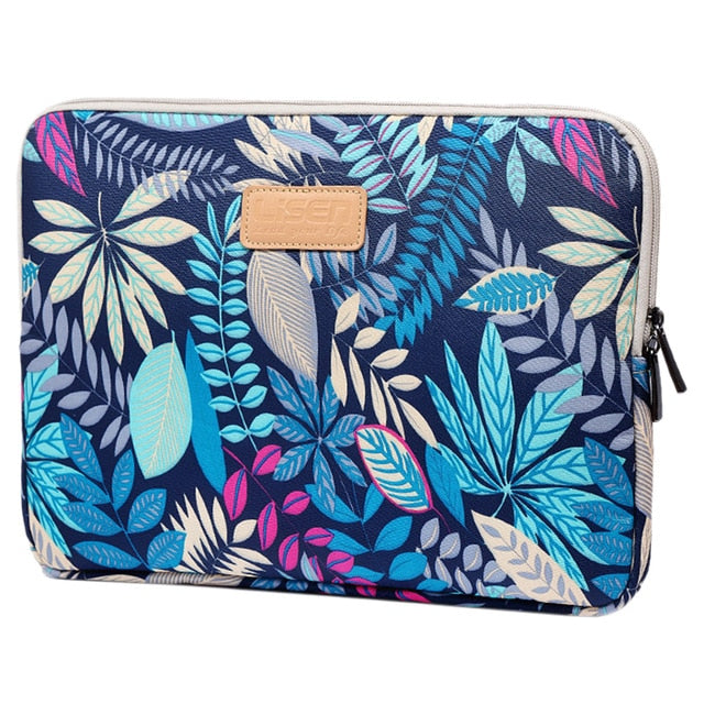Macbook / Laptop Sleeve - Flower Collection - Forest