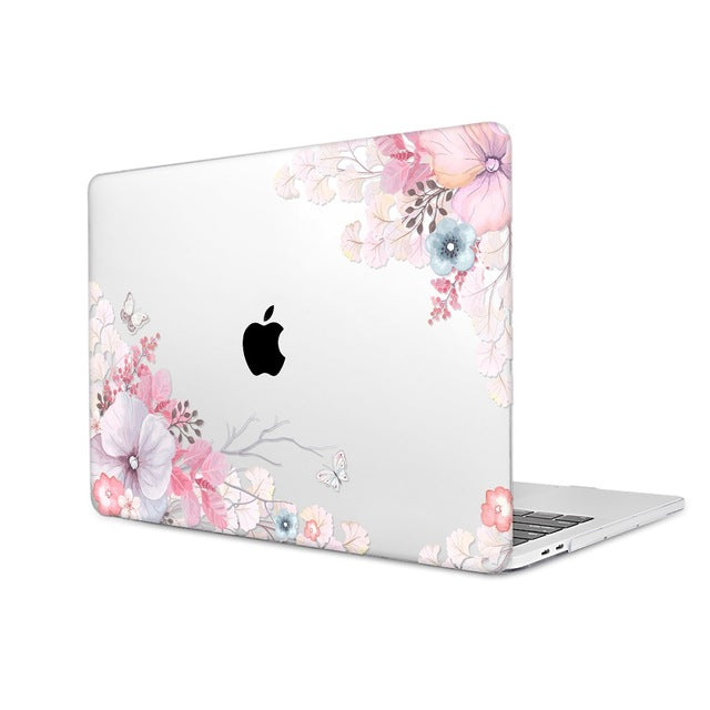Macbook Case - Floral Collection - windflower