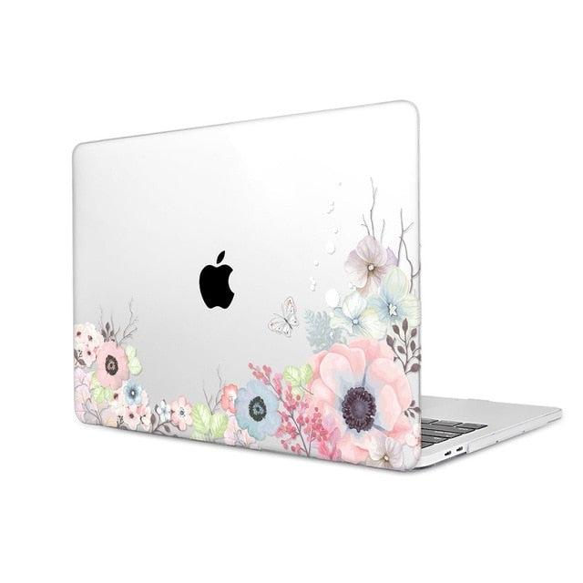 Macbook Case - Floral Collection - Anemone