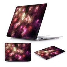 Load image into Gallery viewer, Macbook Case - Paint Collection - Metallic Wine Red