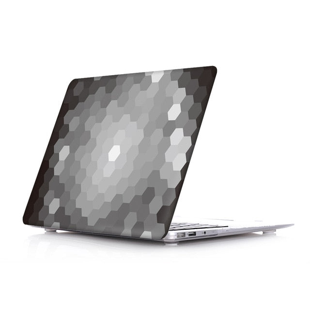 Macbook Case - Paint Collection - Ombre Black