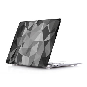 Macbook Case - Paint Collection - Grey Ombre