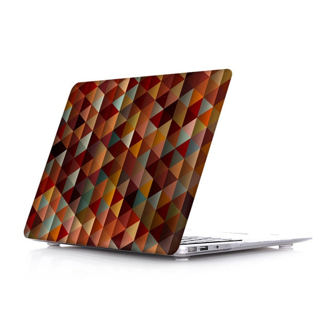 Macbook Case - Paint Collection - Triangle Shapes