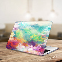 Load image into Gallery viewer, Macbook Case Bundle - Macbook Case and Keyboard Cover - Paint Collection - Sky Paint