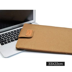Macbook / Laptop Wool Felt Sleeve
