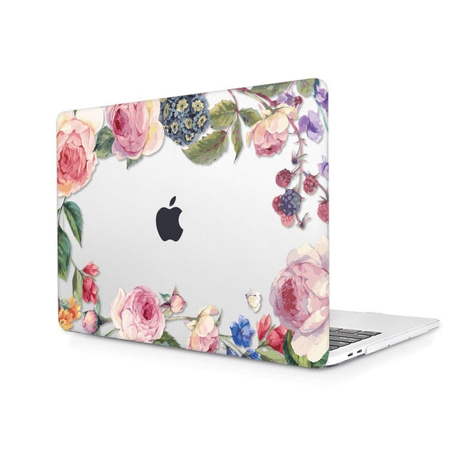 Macbook Case - Floral Collection - Romy