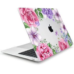 Macbook Case - Floral Collection - Huge Roses