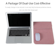 Load image into Gallery viewer, Macbook / Surface / Matebook / Laptop Sleeve - Leather Collection - Pink