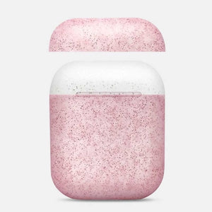 AirPod Case - Color Collection - Glitter Pink / Glitter White