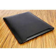 Load image into Gallery viewer, Laptop Sleeve case PU Leather bag for 11 12 13 15.4 15.6 - Black