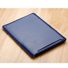 Load image into Gallery viewer, Laptop Sleeve case PU Leather bag for 11 12 13 15.4 15.6 - Navy