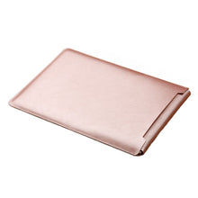 Load image into Gallery viewer, Laptop Sleeve case PU Leather bag for 11 12 13 15.4 15.6 - Rose Gold