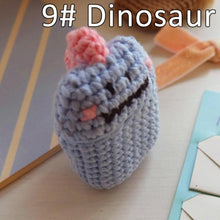Load image into Gallery viewer, AirPods Case - Knitted Collection - Dinosaur