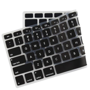Macbook US/CA Keyboard Cover - Color Collection - Black