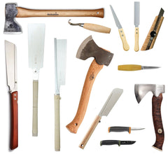 Handsaws, Axes & Knives