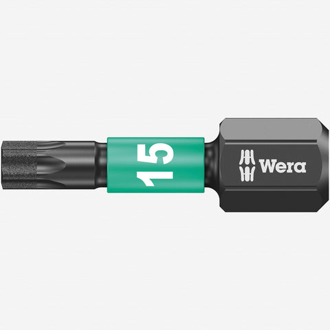 IMPAKTOR TORX #15x25mm Diamond Coated Power Bit (WERA)