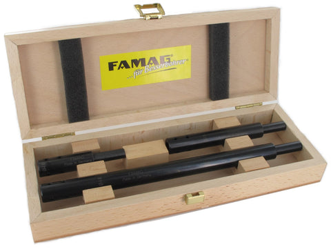 3 pcs. Extension Set in Wooden Case for 8mm Bormax Shank (Famag)