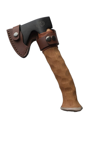 "NEW!! Karesuando ""METTÄMIES"" BUSHCRAFT Hunting Axe Brown - Small (Karesuando)"