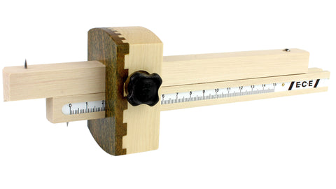 Coming Soon!! Double Marking Gauge w/ lignum vitae face (ECE)