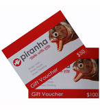 Piranha Tools Gift Vouchers