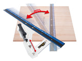 NEW!! Circular Saw Guide L-Angle Plus Shift 1.2m (Shinwa)