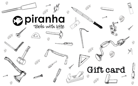 Piranha Tools Gift Card