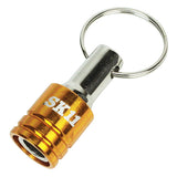 Screwdriver Key Ring Quick Bit Holder S1 (Bongoknuts)